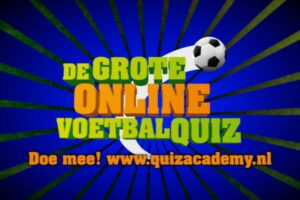 Evenement Grote Online Voetbalquiz